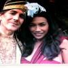 King & Germaine at video shoot